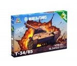Italeri 34102 - T-34/85 World of Tanks
