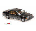Maxichamps 940037021 - MERCEDES-BENZ 320CE (C 124) – 1991 – BLACK METALLIC