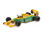 Minichamps 517924318 - BENETTON FORD B192 - MICHAEL SCHUMACHER - 1ST F1 WIN BELGIAN